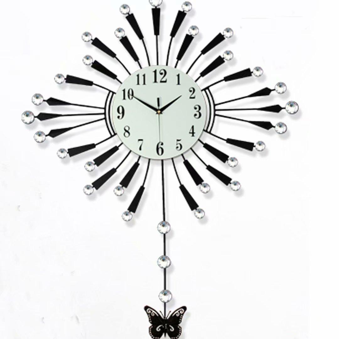 欧風 時計 掛け時計 チューバ リビング シズネ 振り子時計 水晶時計 創意 現代 シンプル 掛時計 SFANY B07DR6BQ8C