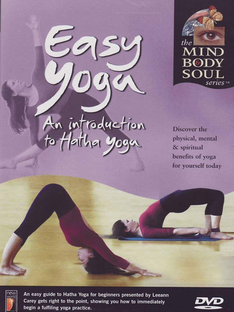 Amazon.com: Easy Yoga: An Introduction to Hatha Yoga: Leann ...