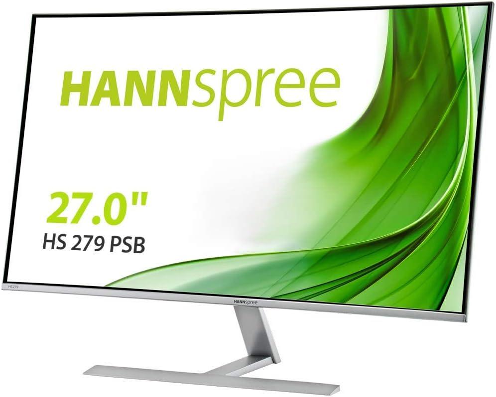 HANNS G Hannspree HS279PSB 27 Pulgadas FHD HDMI VGA DP Altavoces: Amazon.es: Informática