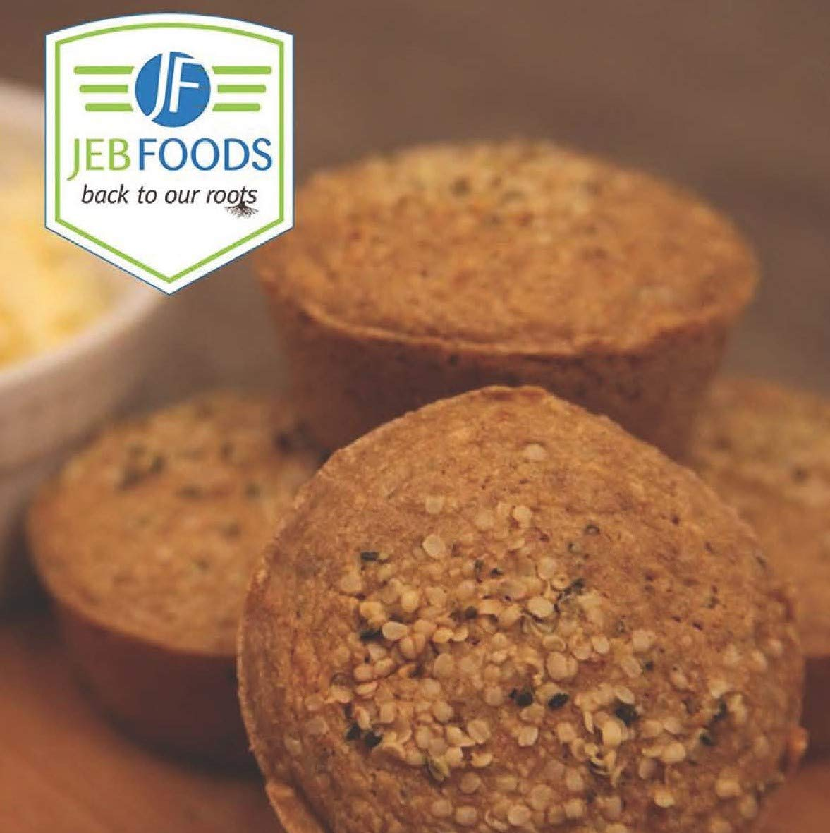 JEB FOODS Oven-Dried Cassava flour 4lbs bag-No Grittiness, No Smell (Manioc or Yuca Flour) nut- free, grain-free, gluten-free baking, non-gmo, 100% Naturally Grown (4LB) by JEB FOODS (Image #6)