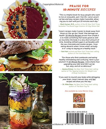 10 minute recipes fast food clean ingredients natural health 10 minute recipes fast food clean ingredients natural health liana werner gray 9781401949709 amazon books forumfinder Images