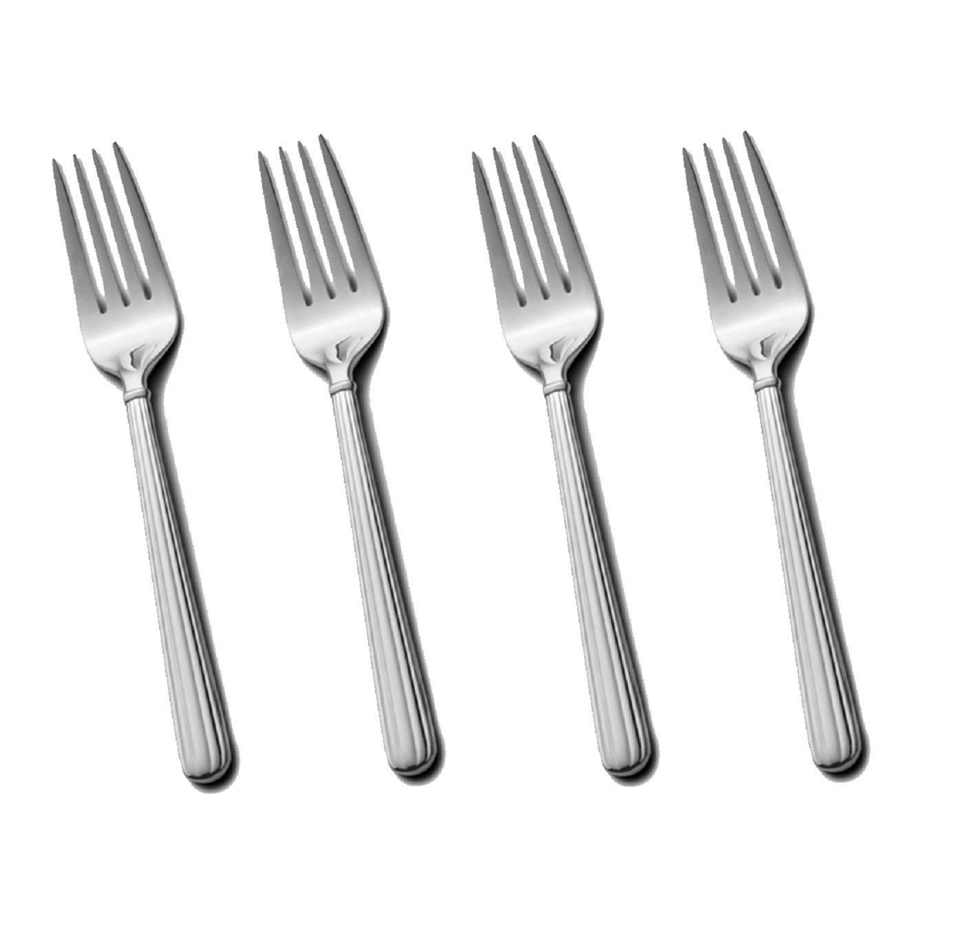 Mikasa Italian Countryside 18/10 Stainless Steel 6 5/8'' Salad Fork (Set of Four)