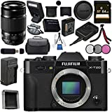 Fujifilm X-T20 Mirrorless Digital Camera (Black) 16542490 XF 55-200mm f/3.5-4.8 R LM OIS Lens 16384941 Bundle