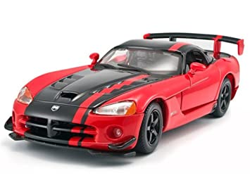 Bon Bburago DODGE 1:24 Viper SRT 10 ACR Diecast Model Car Vehicle New In Box