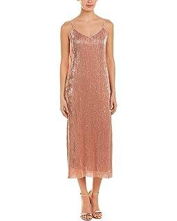 b0dd91239a4 JOA Womens Sleeveless Midi Slip Dress at Amazon Women s Clothing store