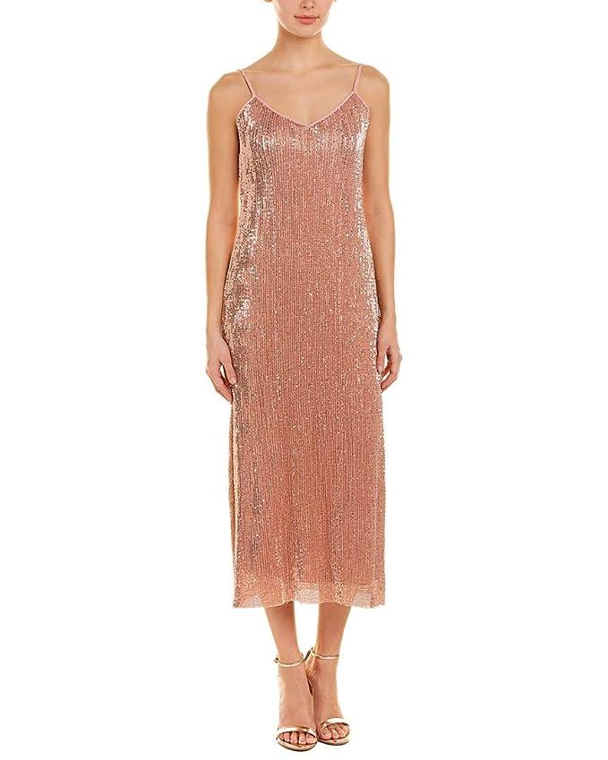 f2bddf52 State Womens Spaghetti Strap Midi Slip Dress at Amazon Women's Clothing  store: