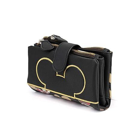Karactermania Mickey Mouse True Monedero, 16 cm, Negro