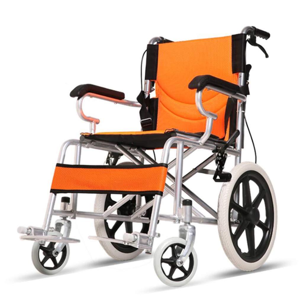 【予約販売】本 HSBAIS 輸送車椅子 Orange、自走用車いす折りたたみ式ポータブルアジャスタブルフットレストで快適,Orange Orange B07NLT4MNY B07NLT4MNY, AKD通販Priceless:7f67fd2b --- a0267596.xsph.ru