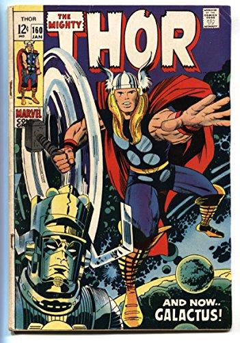 THOR #160 comic book 1969 MARVEL COMICS JACK KIRBY GALACTUS