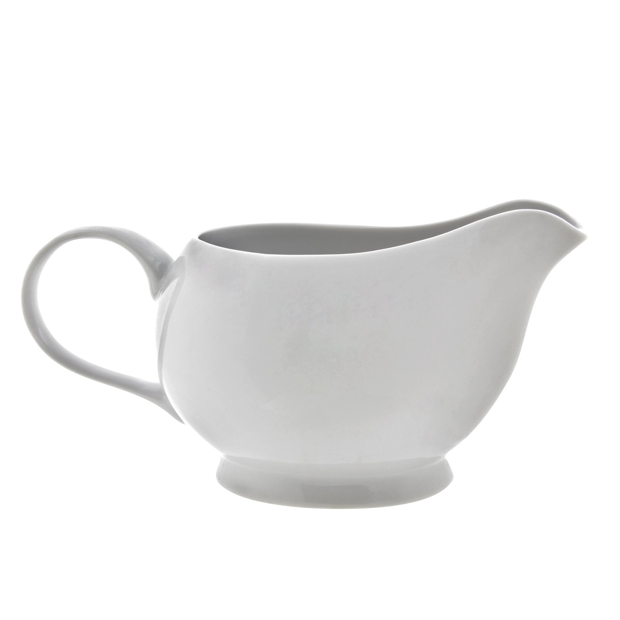 10 Strawberry Street Royal White 16 Oz Gravy Boat, White