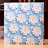 diy handmade home affixed album album / couple romantic pasted album album / baby growth record / 18 inch leather photo album /
