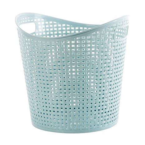 GXYGWJ Artículos para el hogar, cestos de plástico para la ...