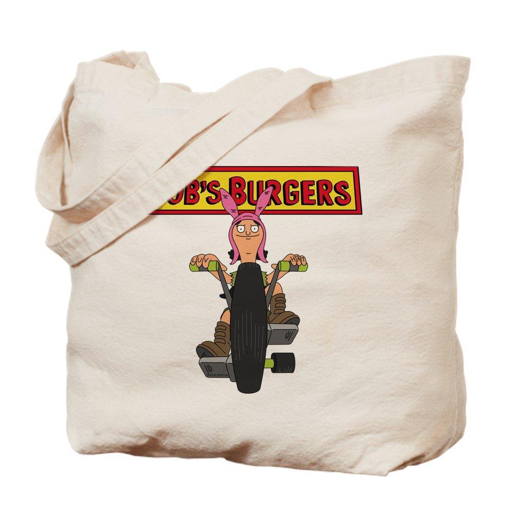 CafePress – Bob 's Burgers Bike – ナチュラルキャンバストートバッグ、布ショッピングバッグ M ベージュ 0253110345E9484 B07CLCKPNS  M