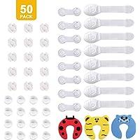 Sécurité ENFANT Coins de protection transparent en 12 Pack + Porte Armoire de sécurité Sécurité Tiroir sécurité sécurité enfant 12 Pack - Blanc, pare-chocs pour bébé et enfants