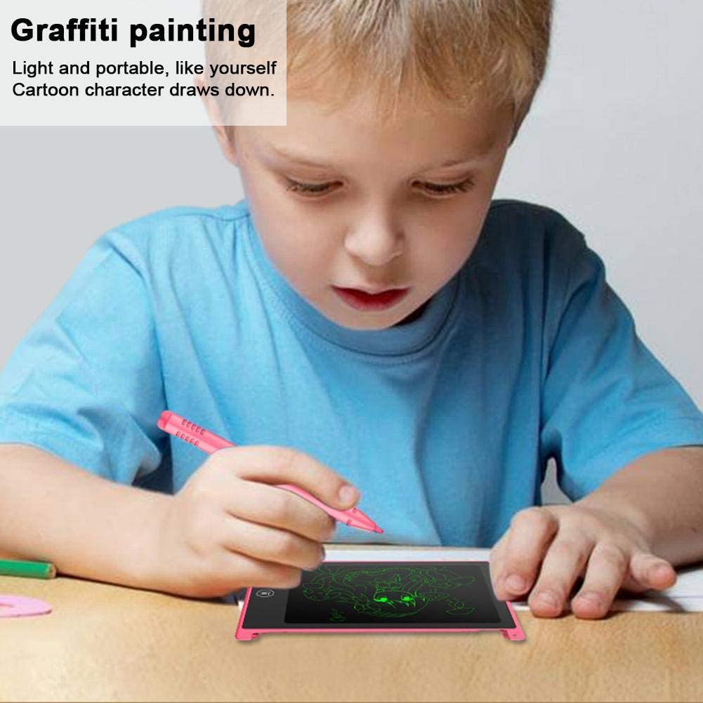 SHZONS 4.4 Inch LCD Picture Board Electronic Handwriting Writing Tablet ABS Writing Painting Board for Children Early Education Toy