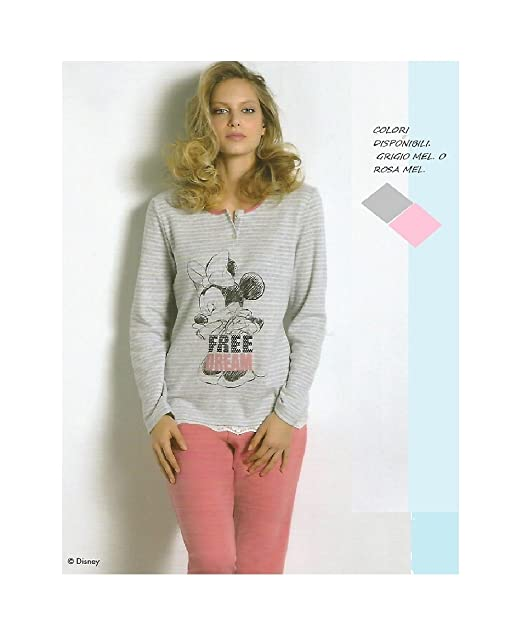 Disney - Pijama - para Mujer Rosa Melange 42/M