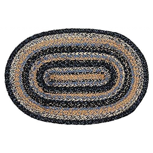 """IHF Home Decor Oval Placemat Jute Braided Rug 