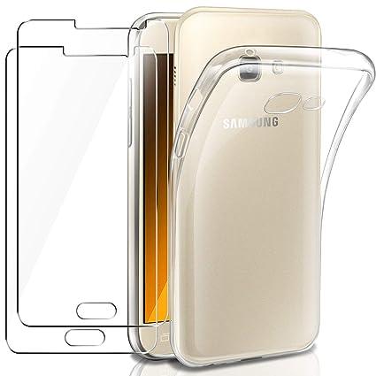 AROYI Funda Samsung Galaxy A5 2017 Carcasa + [2-Pack ...