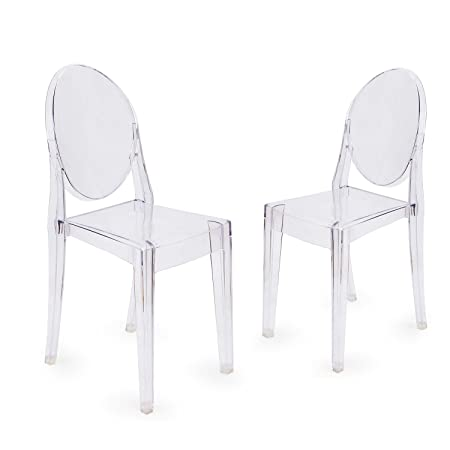 Design Victoria Ghost Chair (Set Of 2) High Quality