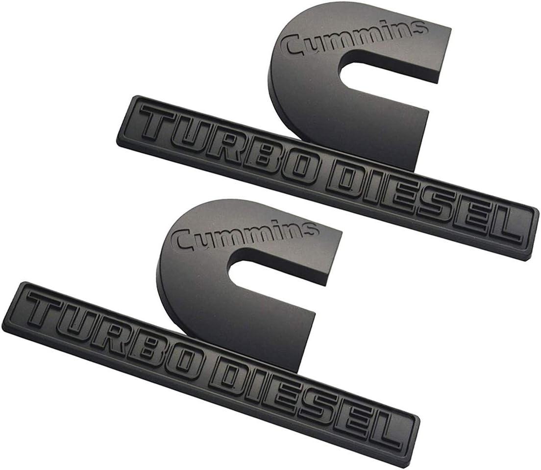 1PCS NEW Matte Black for 2019 RAM Letter Truck Side Door Nameplate Emblem Badge