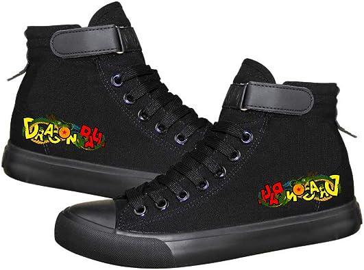 Dragon Ball Zapatillas Zapatos de Lona Superiores Zapatillas de Deporte Casuales Deportivas Unisex Tallas Grandes con Cordones: Amazon.es: Zapatos y complementos