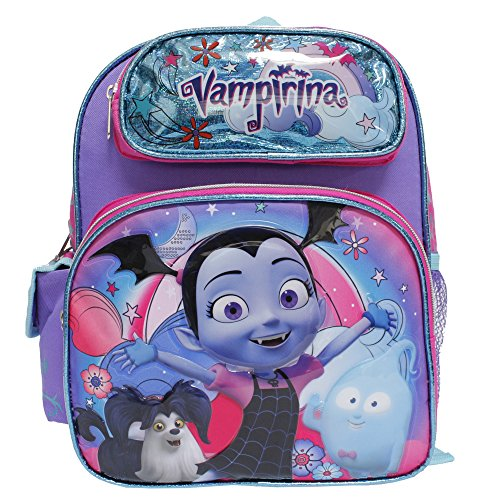 91b8596564e Disney Junior Vampirina New Cute Purple Girls  Small School Backpack-  Hauntley