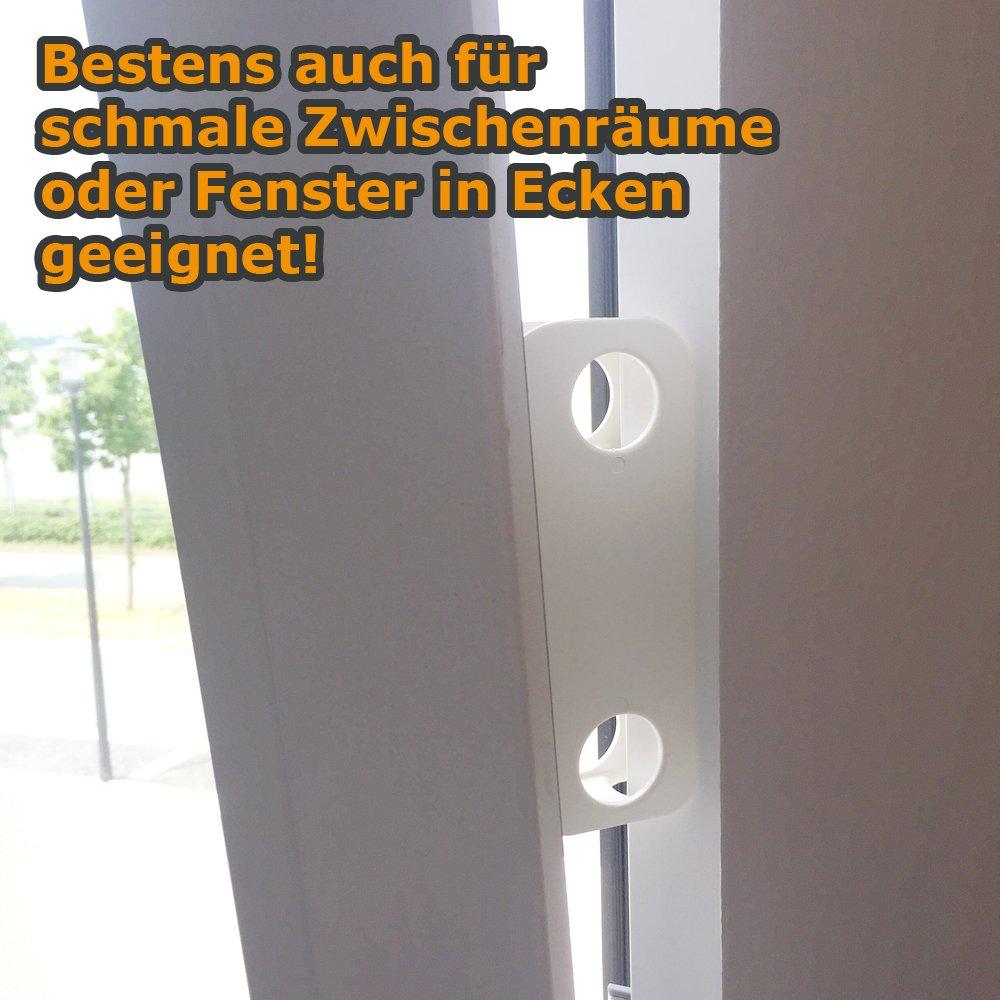 Fensterbremse Zuschlagschutz Kipp Schutz Katzen Klemmschutz Ohne
