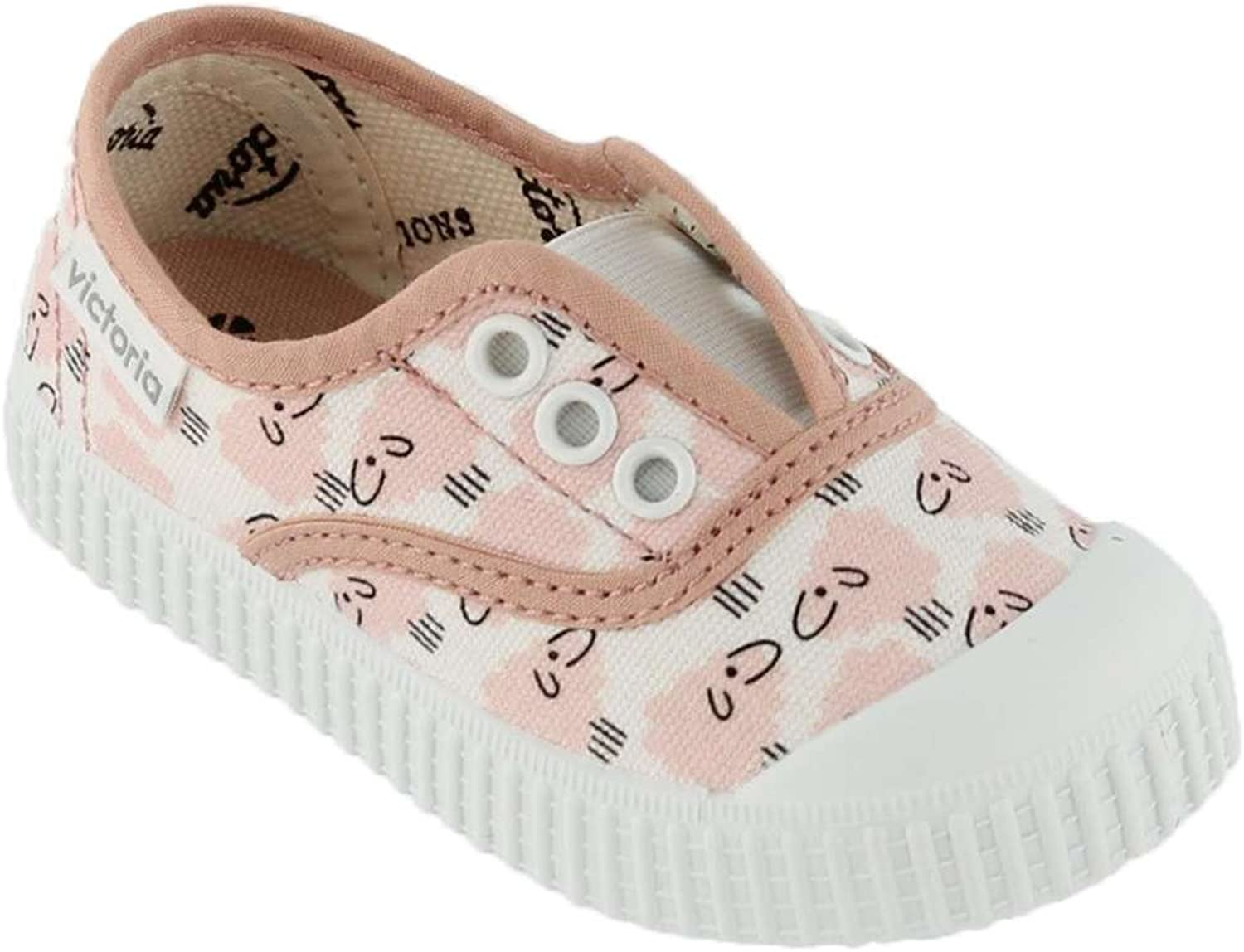 Victoria Girls Slip On Canvas Shoes