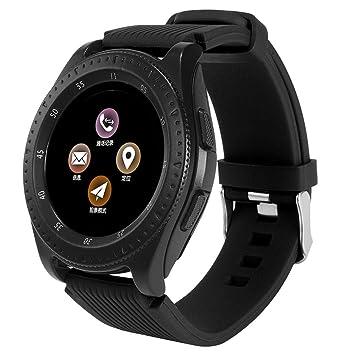 Montre Connectée Smartwatch Podomètre Tracker dActivité Bracelet Sport, Etanche Téléphone Android Montre GPS