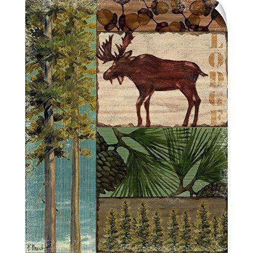 CANVAS ON DEMAND Nature Trail I Wall Peel Art Print, 38