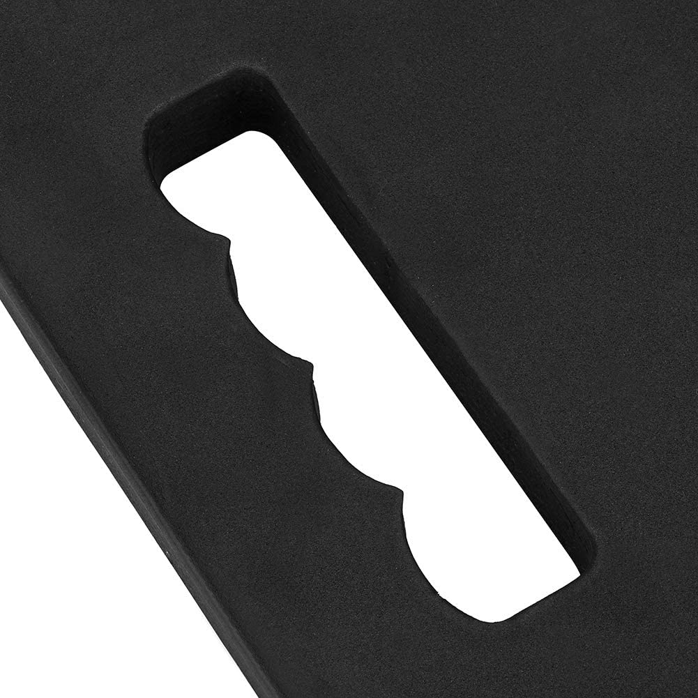 Black idalinya EVA Garden Kneeling Pad Knee Mat Protector with Handle Protection Knee Pads for Gardening Working Yoga Knee Pad