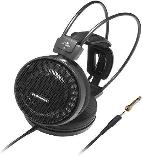 Audio Technica Ath Ad500x On Ear Kopfhörer 6 3mm Klinkenstecker Schwarz Musikinstrumente