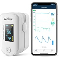 Wellue Pulse Oximeter Fingertip Blood Oxygen Saturation Monitor