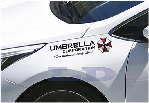 Vinyl Resident Evil Umbrella Car Sticker Auto Front Windshield Decal Adhesive