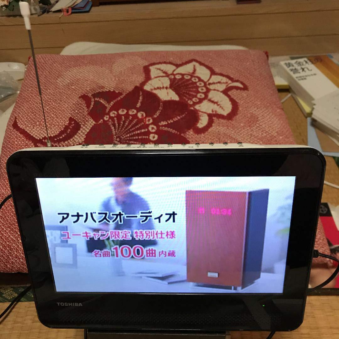 TOSHIBA REGZA 防水対応ポータブルDVD SD-P100WP B0098U712I