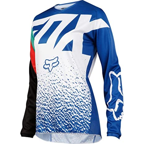 Image Unavailable. Image not available for. Color  Fox Racing 2018 Womens  180 Jersey-Blue-XL 39084f4f2