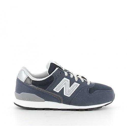 New Balance Zapatillas 996 Lifestyle Cordon Azul/Plateado/Blanco Talla: 34,5: Amazon.es: Zapatos y complementos
