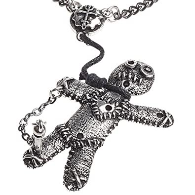 Alchemy Gothic Voo Doo Doll Necklace RcEjKAv