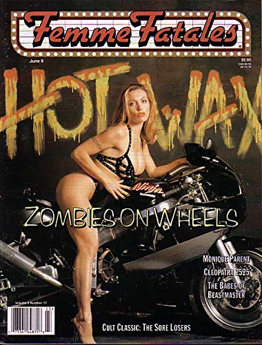 Wheels 2000 Magazine (FEMME FATALES-6/9/2000-ZOMBIES ON WHEELS COVER FN)