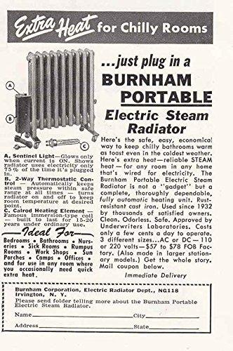 amazon com 1948 burnham portable electric steam radiator burnham rh amazon com