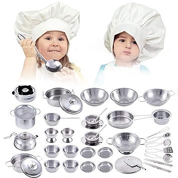 Juego de imaginación Juego de utensilios de cocina Cocina Juego de utensilios de cocina Juegos de ...