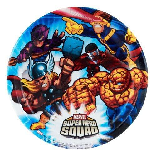 Marvel Super Hero Squad Dessert Plates (8 count) ()