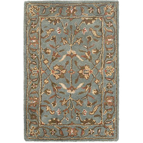 Butler Furniture Heritage Collection (Safavieh Heritage Collection HG969A Handmade Traditional Oriental Blue Wool Area Rug (2' x)