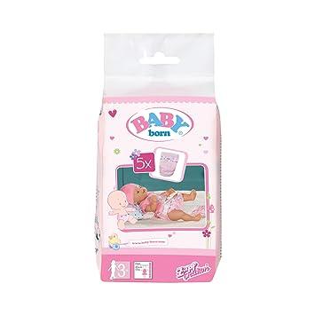 Baby Born 30864 – Pack de 5 Pañales