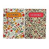 Pennine Pocket Floral Sudoku Challenge Books - Book 1 & 2, Each includes 130 Pages