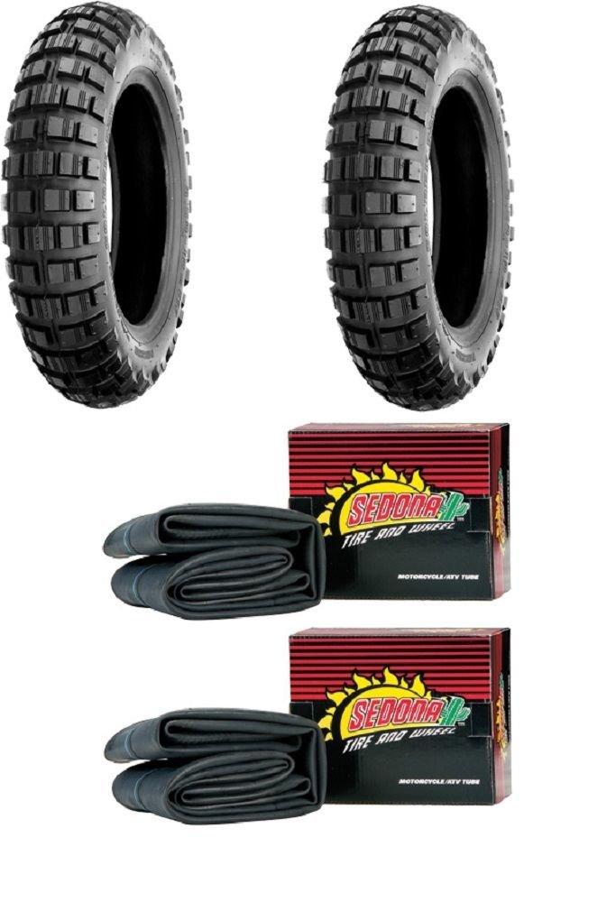 Shinko SR241 Mini Bike Trail Tire Set - Honda Z50A/R - 1968-1999 - Tires and Tubes