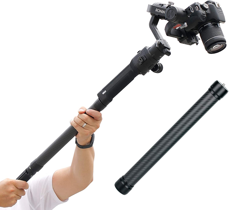 For DJI OM 4//OSMO Mobile 3 2 Feiyu Zhiyun Stabilizer Extension Rod Selfie Stick