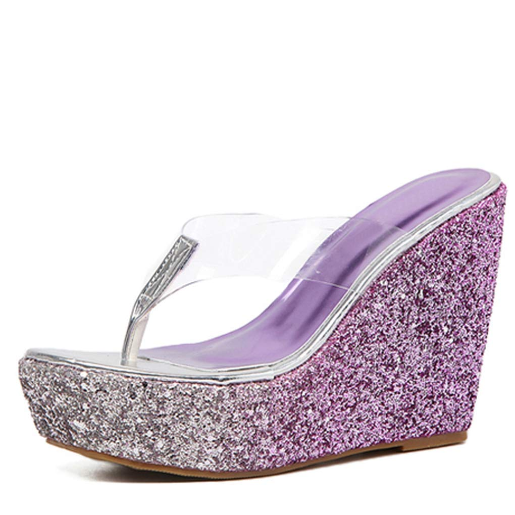 379e705c00 Amazon.com | U-MAC High Heel Wedge Platform Sandals for Women ...