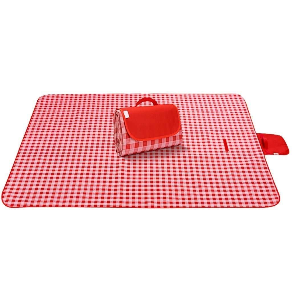 ZKKWLL Picnic Blanket Large Outdoor Picnic Rug Pad Beach Rug Foldable with Waterproof and Portable Beach, Travel, Vacation, Camping Beach mat by ZKKWLL