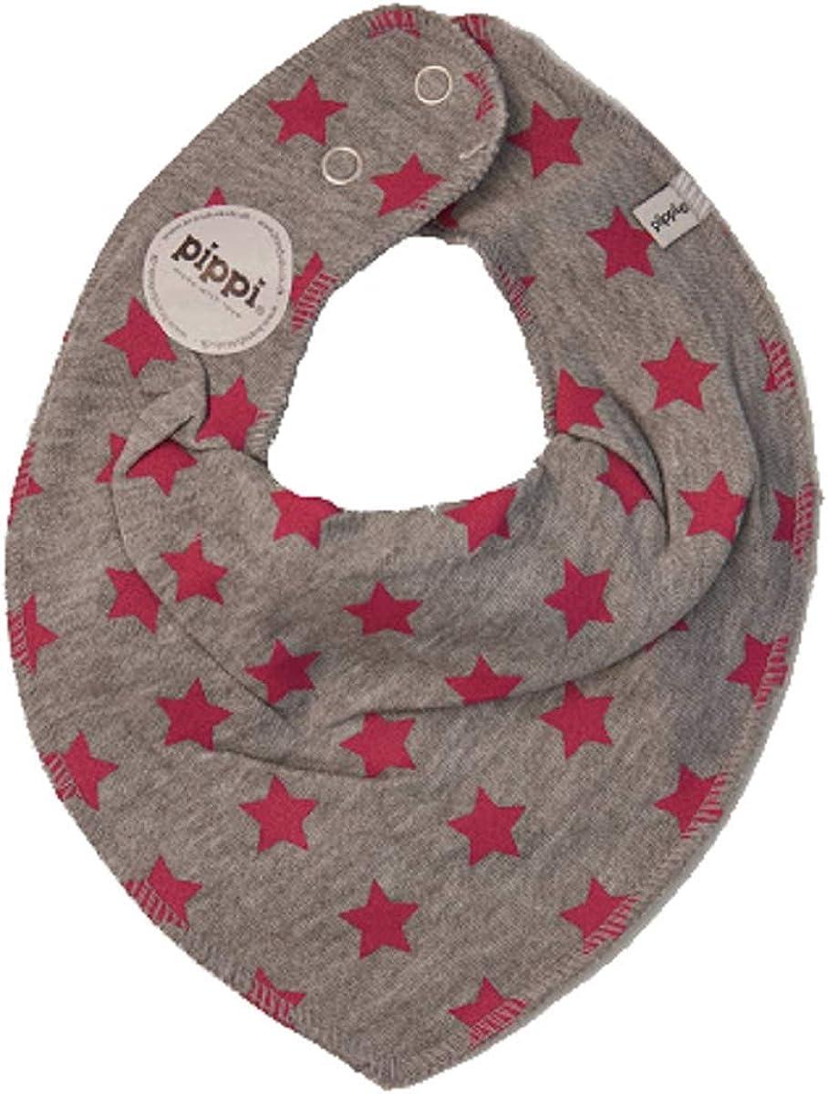 Set di 3 foulard triangolari per bambini rosa degli unicorni motivo Pippi Baby